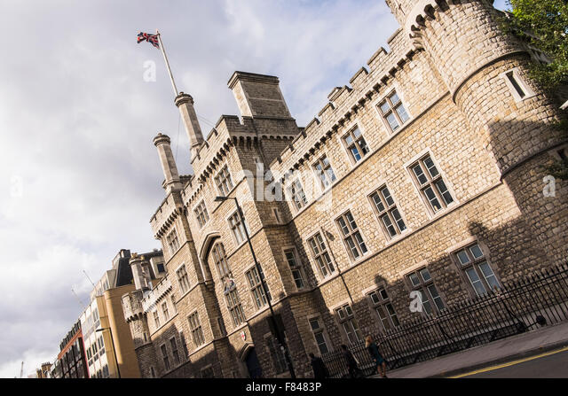 Finsbury Barracks, City road, London, England, U.K. - Stock Image