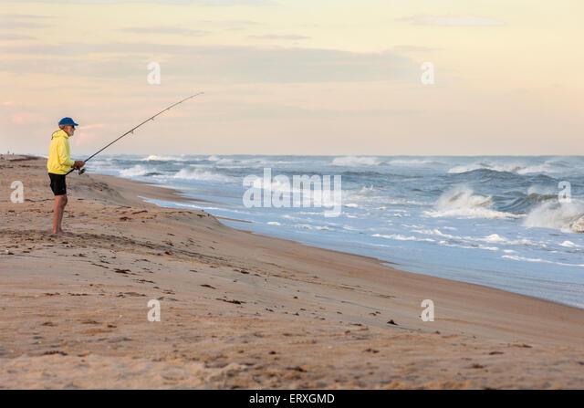 North carolina fishing stock photos north carolina for Outer banks fly fishing