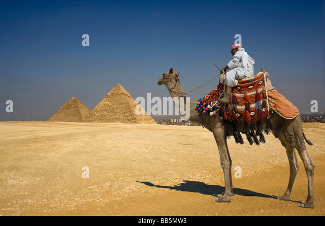 The Great Pyramids - Stock Image