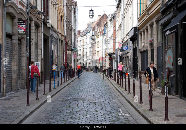 lille street scene stock photos lille street scene stock images alamy. Black Bedroom Furniture Sets. Home Design Ideas