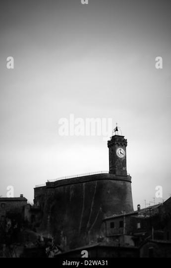 Sorano, Italy - Stock-Bilder
