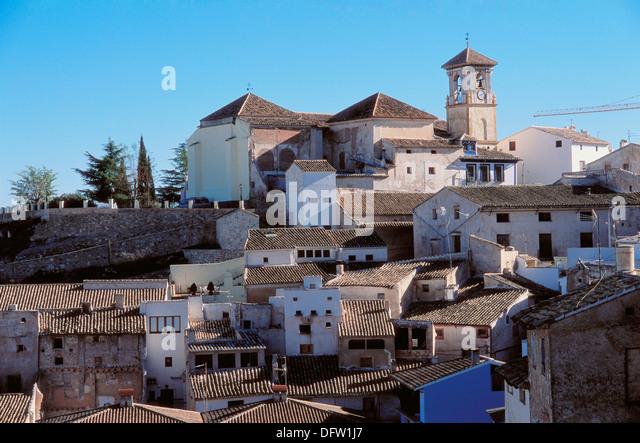 Cehegin. Concepción church, XVIth century. Murcia province. - Stock Image