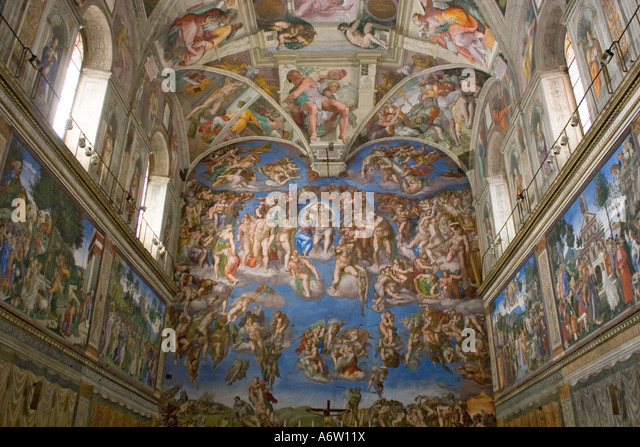 Which Artist Painted The Sistine Chapel