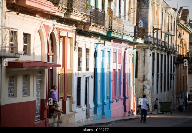 Havana, Cuba, West Indies, Central America - Stock Image
