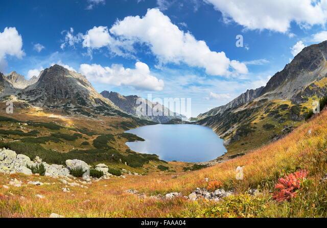 Tatra Mountains, Five Lakes Valley, Poland - Stock Image