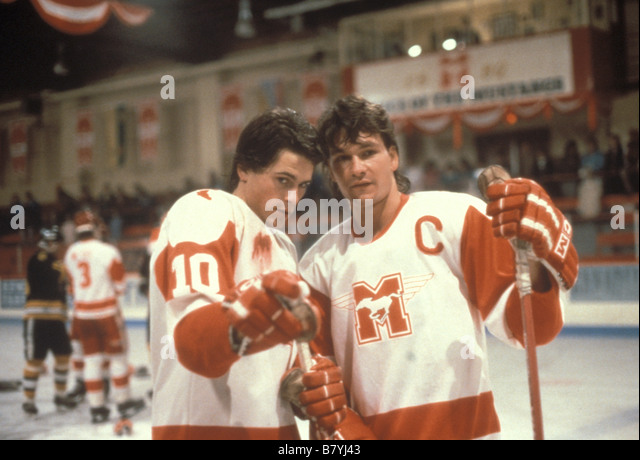 Rob Lowe Patrick Swayze Directed by Peter Markle - Stock Image