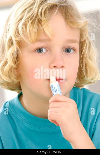 CHAP PROTECTION - Stock Image