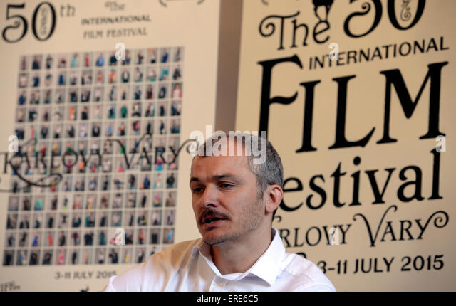 Prague, Czech Republic. 2nd June, 2015. Karlovy Vary International Film Festival Artistic director Karel Och attends - Stock-Bilder