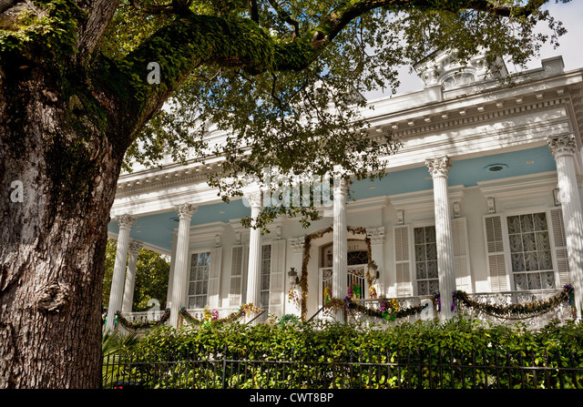 Garden District New Orleans Stock Photos Garden District New Orleans Stock Images Alamy