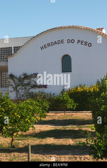 herdade do peso alentejo portugal - Stock Image