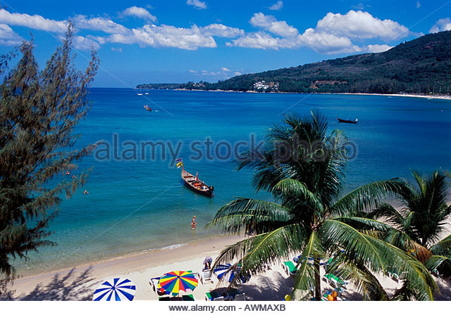 Kamala Beach Thailand Stock Photos
