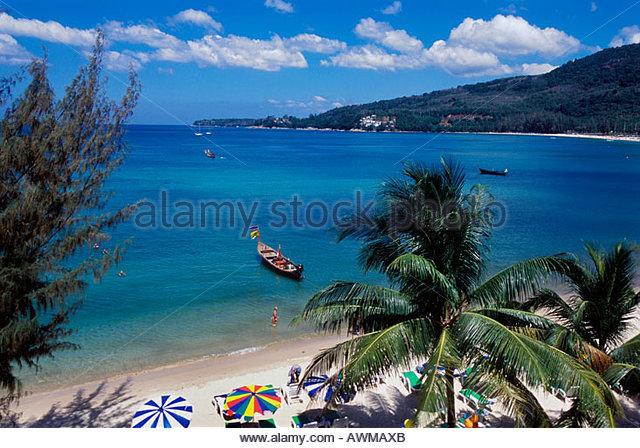 Kamala Beach Thailand Stock Photos