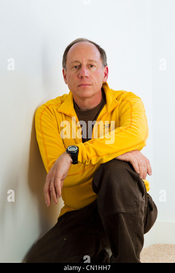 Casual portrait of photographer H. Mark Weidman, Salida, Colorado, USA - Stock Image