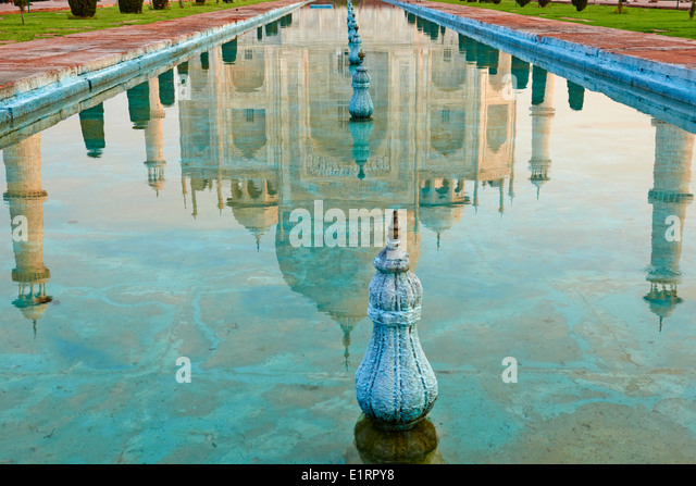 India, Uttar Pradesh state, Agra, Taj Mahal, Unesco world heritage - Stock-Bilder