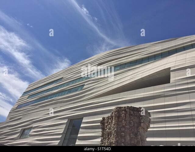 Snøhetta Architects San Francisco Museum of Modern Art - Stock Image
