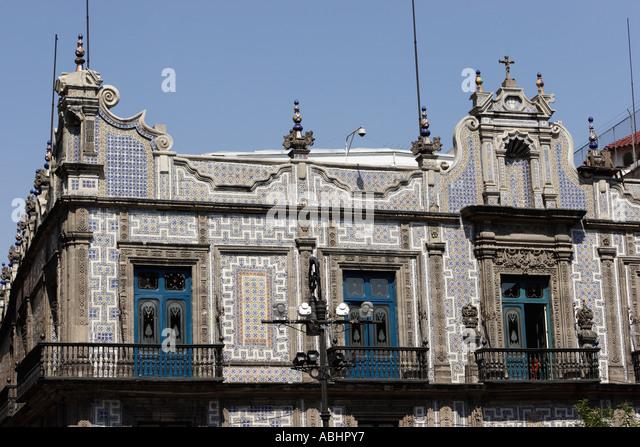 Sanborn house stock photos sanborn house stock images for Casa de los azulejos mexico df