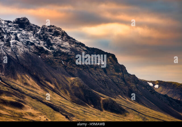 Icelandic Landscape - Stock Image