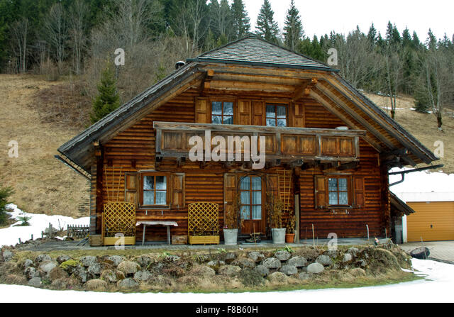 Holzhaus stock photos holzhaus stock images alamy