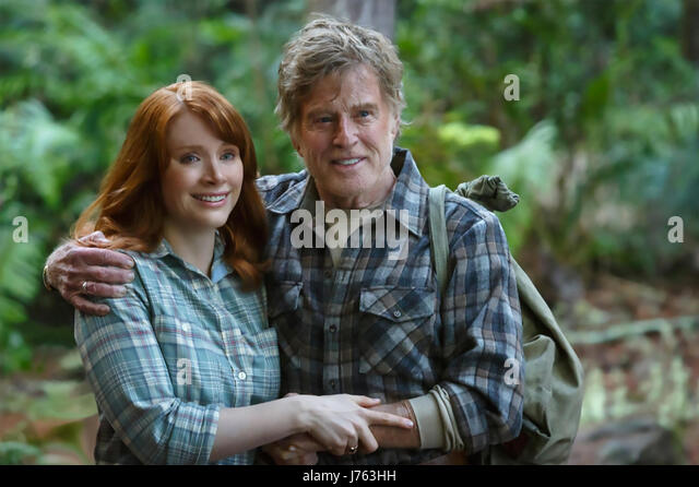 PETE'S DRAGON 2016 Walt Disney Pictures film with Bryce Dallas Howard and Robert Redford - Stock-Bilder