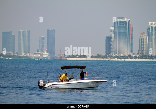 Boating miami stock photos boating miami stock images for Deep sea fishing miami fl