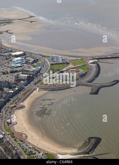 The seaside resort of Morcambe, Lancashire,North West England - Stock-Bilder