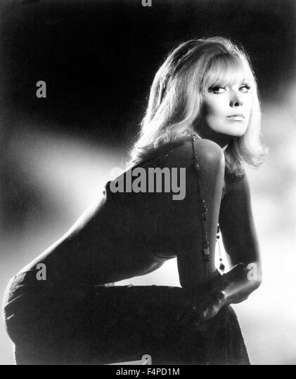 Kim Novak / The Legend Of Lylah Clare 1968 directed by Robert Aldrich - Stock Image