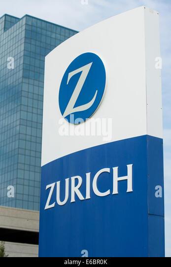 The headquarters of Zurich North America in Schaumburg, Illinois. - Stock Image