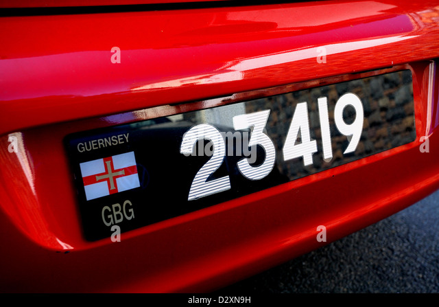 how to find car registration number