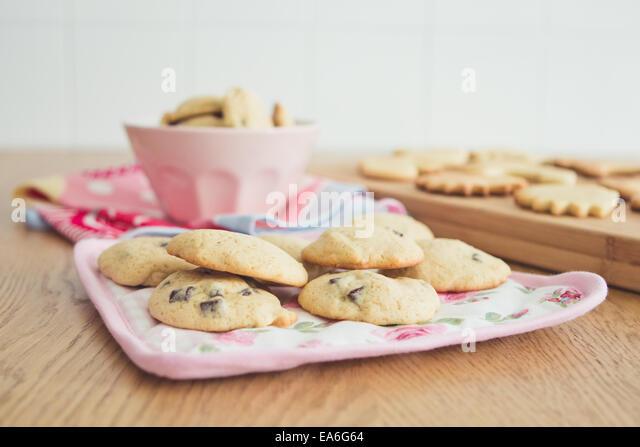 View of cookies - Stock-Bilder