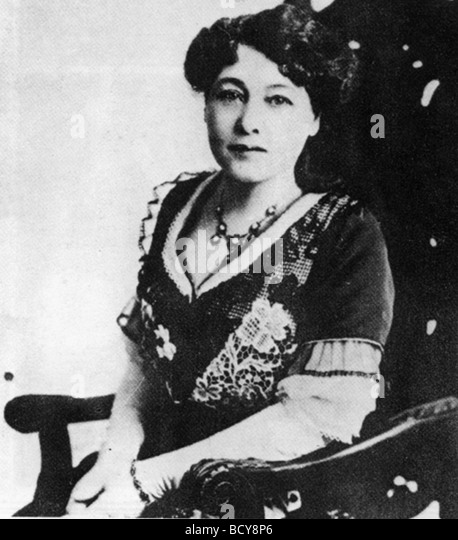 Alice Guy Generally considered to be the world's first female director with La fée aux choux (1896) - Stock Image