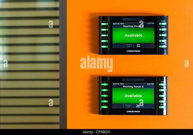 Meeting Room Console - Stock Image