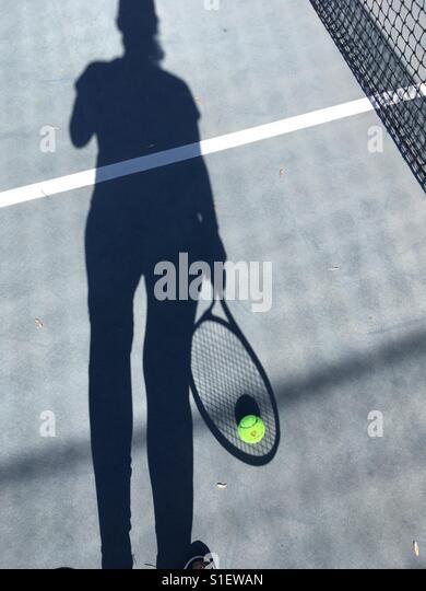 Tennis player - Stock-Bilder