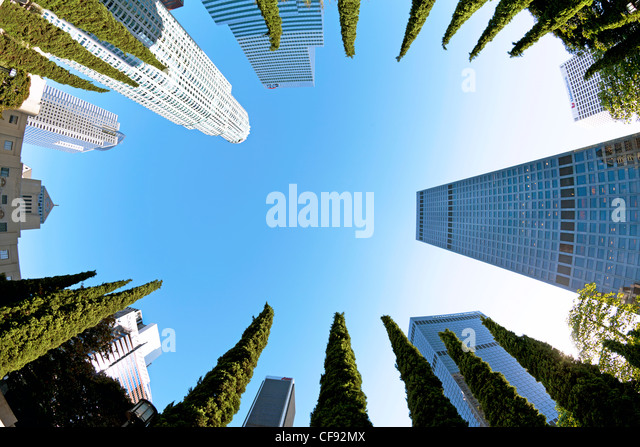 United States, California, Los Angeles, Downtown - Stock-Bilder