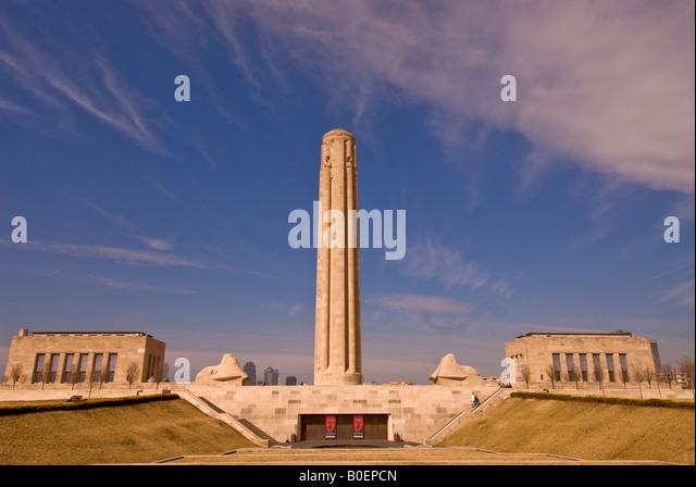 National World War I Museum Kansas City MO Missouri - Stock Image