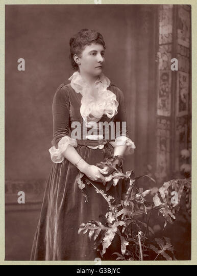 EDITH MAUD SUSANNA SCANNELL an artistic lady who sadly  failed to earn an entry in  the Dictionary of National  - Stock-Bilder