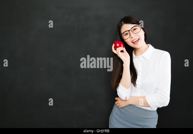The art of teaching is the art of assisting discovery in school - Stock Image