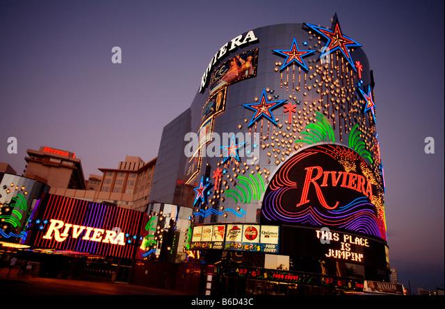 Riviera hotel las vegas stock photos riviera hotel las for Riviera resort las vegas