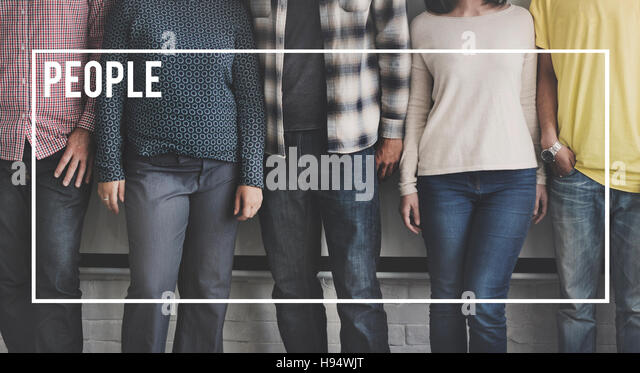 People Community Ethnic Humans Person Society Concept - Stock Image