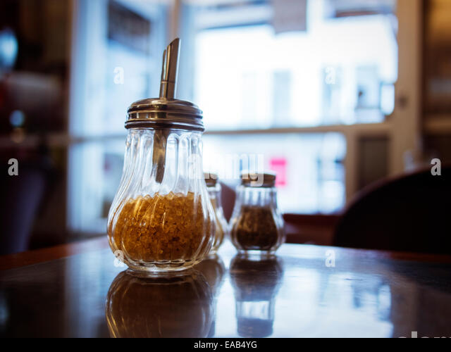 Sugar dispenser stock photos sugar dispenser stock for Coffee tables auckland new zealand