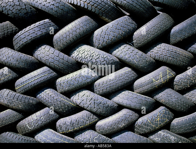Used Tires Stock Photos & Used Tires Stock Images - Alamy
