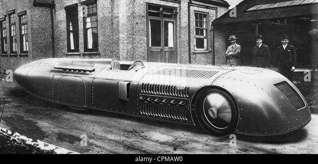 The English race car 'Seagrave', 1927 - Stock Image