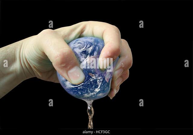 Planet Earth Exploitation - Stock-Bilder
