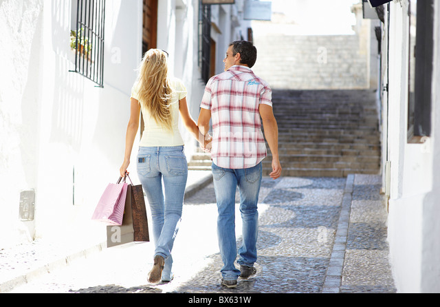 Small Town Tourism - Stock Image