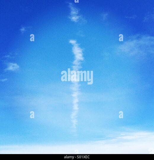 Cloud line - Stock Image