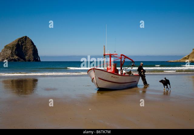 Dory fishing boat stock photos dory fishing boat stock for Dory fishing fleet
