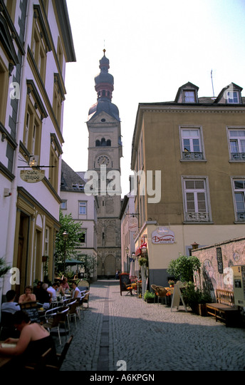 street scene koblenz stock photos street scene koblenz stock images alamy. Black Bedroom Furniture Sets. Home Design Ideas