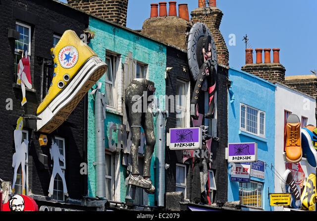 Camden Shoe Shops London