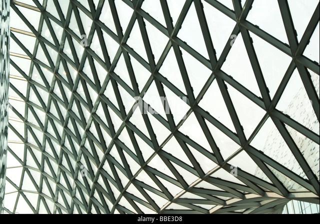 The Shopping Mall MyZeil in Frankfurt am Main Detail - Stock Image