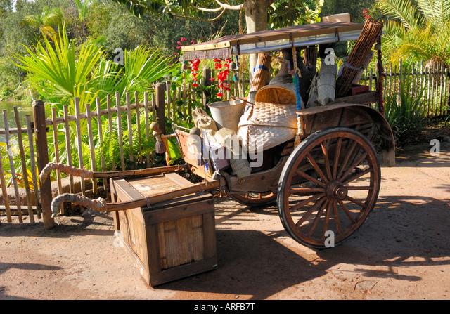 Rickshaw - Stock Image