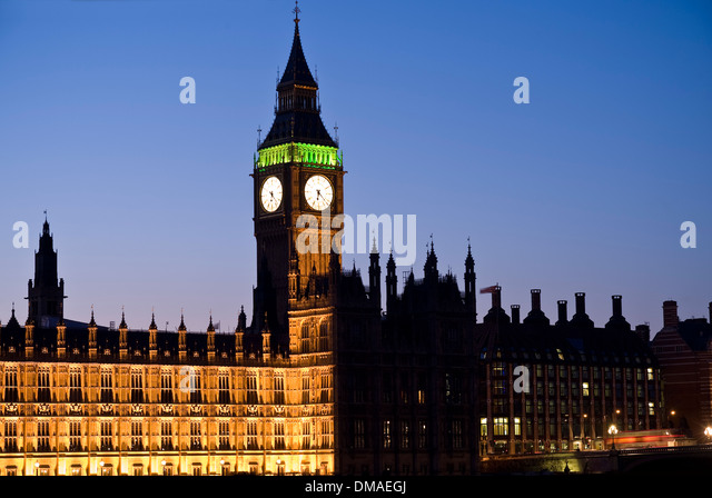 Houses of Parliament, Westminster, London, England - Stock-Bilder